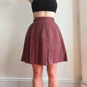 Vintage school girl skirt <3